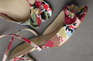 photo of Sun-Warmed Silk bridal heels
