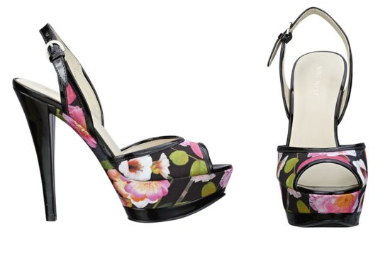 colorful wedding shoes for spring summer weddings bride bridesmaid heels Nine West 4