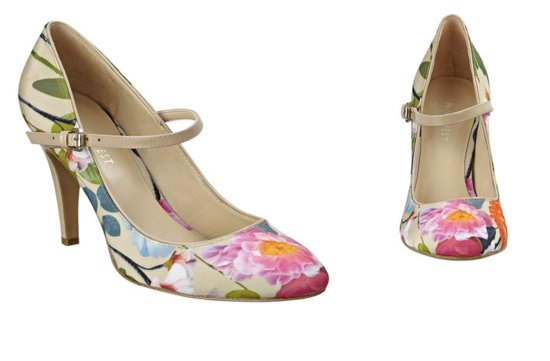 colorful wedding shoes for spring summer weddings bride bridesmaid heels Nine West 2