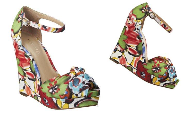 Colorful Wedding Shoes For Spring Summer Weddings Bride Bridesmaid Heels Nine West