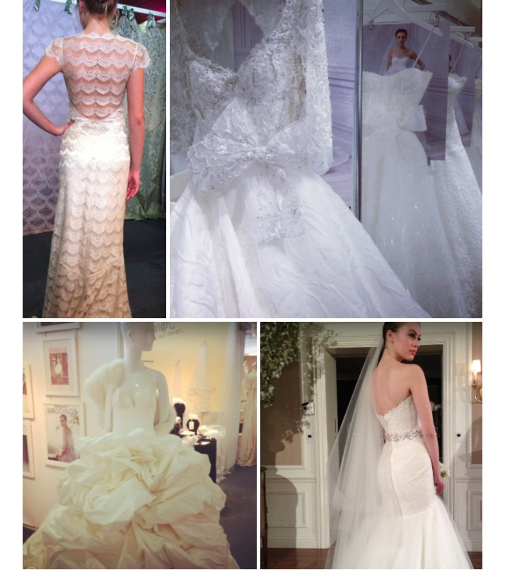 eco friendly wedding dresses spring 2013 Claire Pettibone bridal gowns