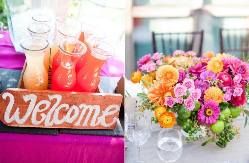 Pink Lemonade Wedding Color Palette Spring Summer Flower Ideas 1
