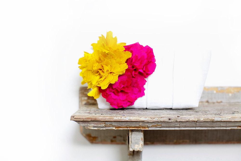 Bright Yellow Hot Pink Lime Orange Gerbera Daisies Roses Amaryllis Collection