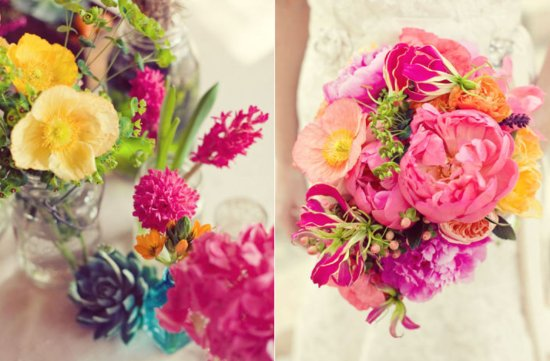 pink lemonade wedding color palette spring summer wedding flower ideas 5
