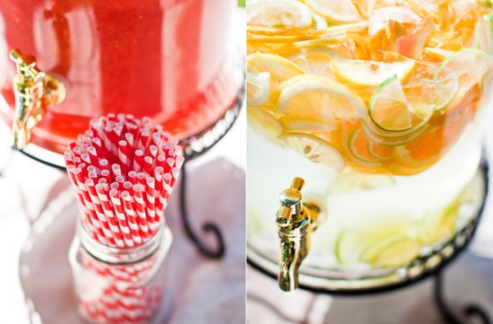 photo of Raspberry Lemonade Wedding Inspiration