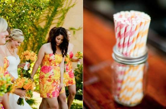 pink lemonade wedding color palette spring summer wedding flower ideas 3