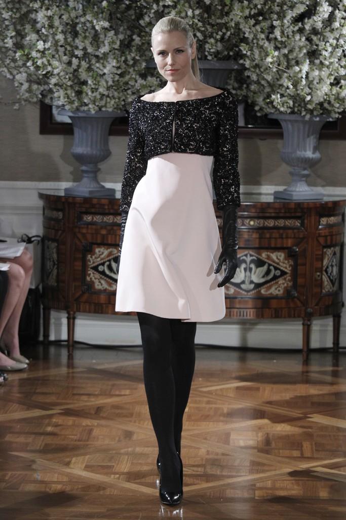 2013-wedding-dress-trend-two-tone-bridal-gowns-blush-pink-lwd-black-cropped-bridal-bolero-romona-keveza.full