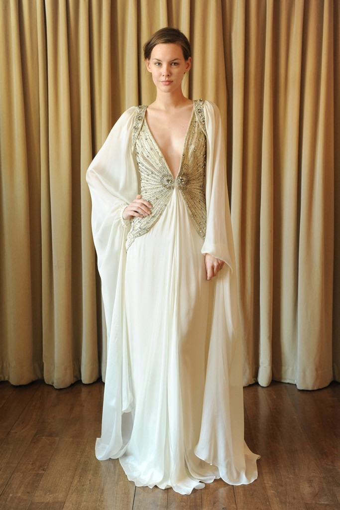 2013-wedding-dress-trend-two-tone-bridal-gowns-sleeved-sheath-with-plunging-neckline-by-temperley-london.full