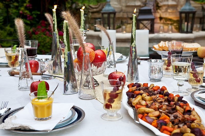 fall wedding reception ideas outdoor dining