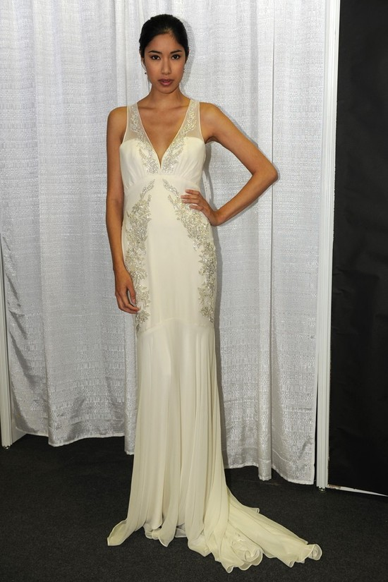 photo of nicole miller wedding dress spring 2013 bridal gowns 8