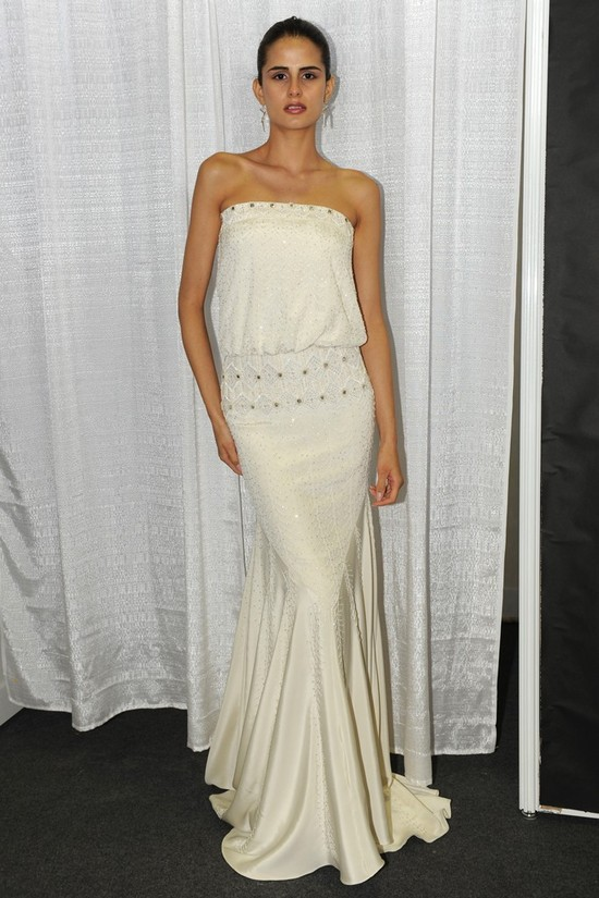 Nicole Miller Wedding Dress Spring 2013 Bridal Gowns 5
