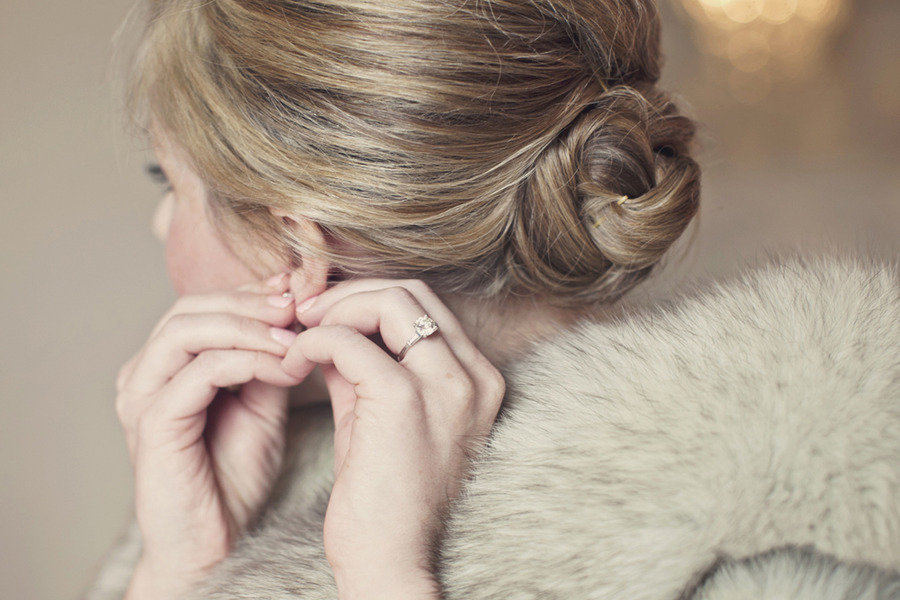 simple ballerina bun wedding hairstyle. Black Bedroom Furniture Sets. Home Design Ideas