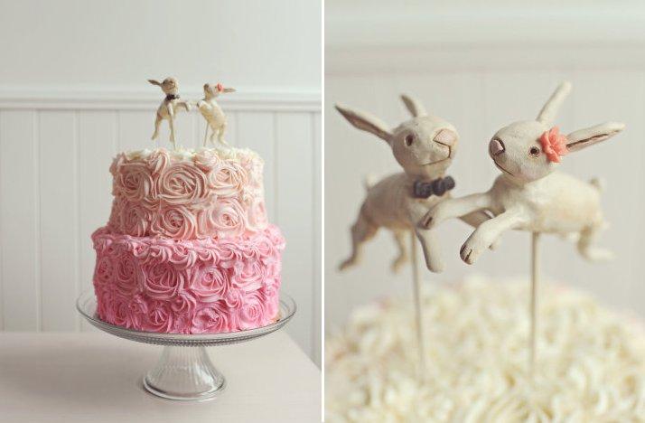 Cute-wedding-cake-topper-ombre-wedding-cake-bunnies.full