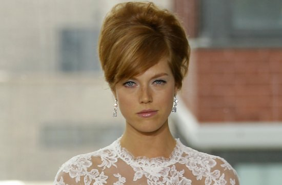 bridal updos wedding hairstyle inspiration 2013 bridal catwalks Rivini 3