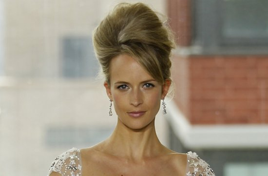 bridal updos wedding hairstyle inspiration 2013 bridal catwalks Rivini 4