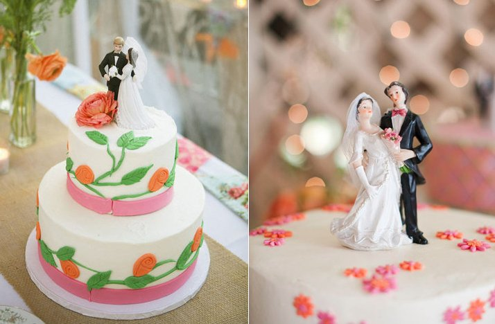 creative wedding cake toppers multiple wedding cakes vintage cake toppers