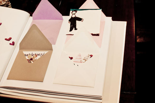 wedding guest books envelope album