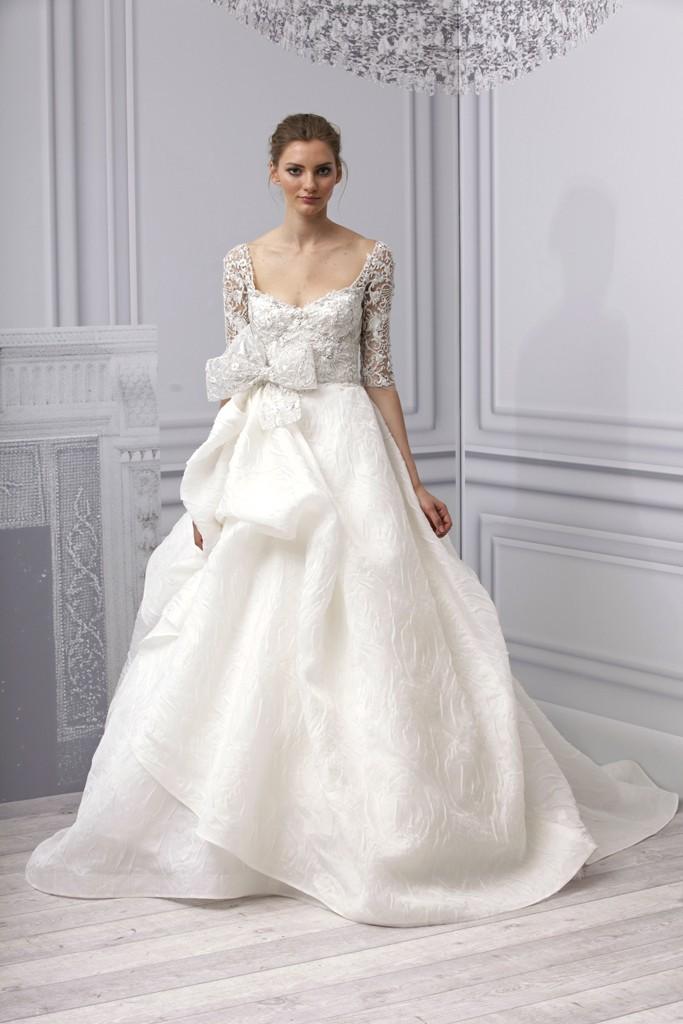 Spring 2013 wedding dress Monique Lhuillier bridal gown artistic ...
