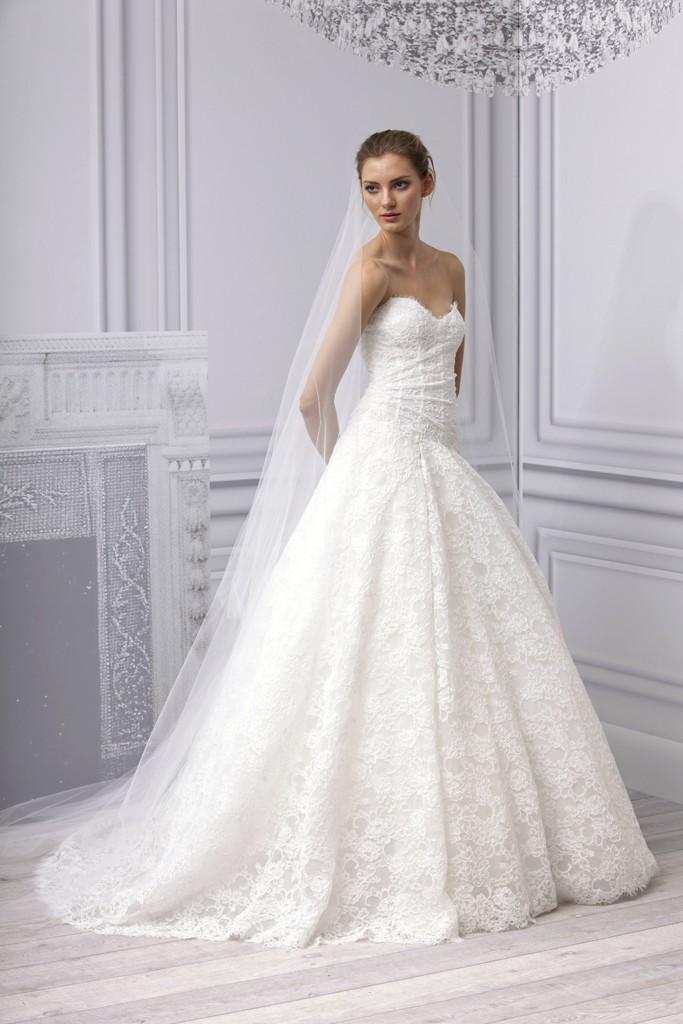 Spring 2013 wedding dress monique lhuillier bridal gown for World best wedding dress