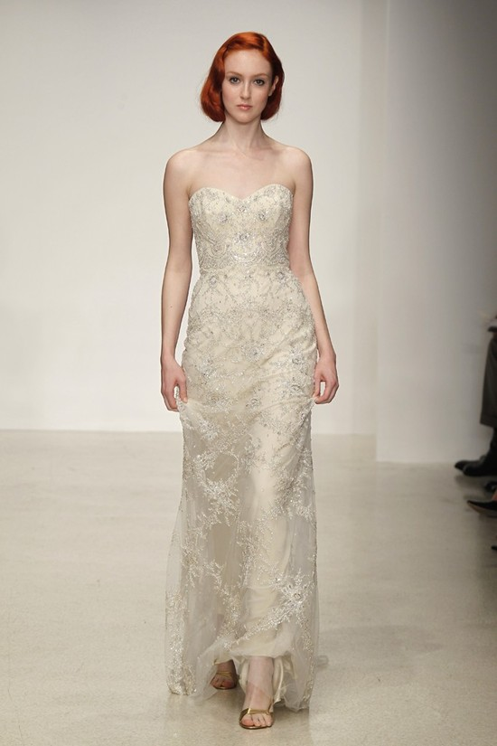 Spring 2013 wedding dress by Kenneth Pool bridal gowns 1