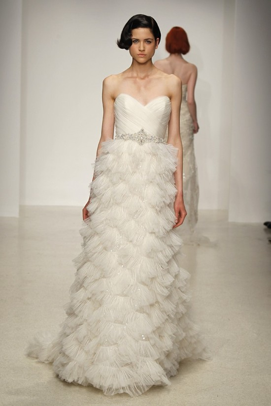 Spring 2013 wedding dress by Kenneth Pool bridal gowns 2