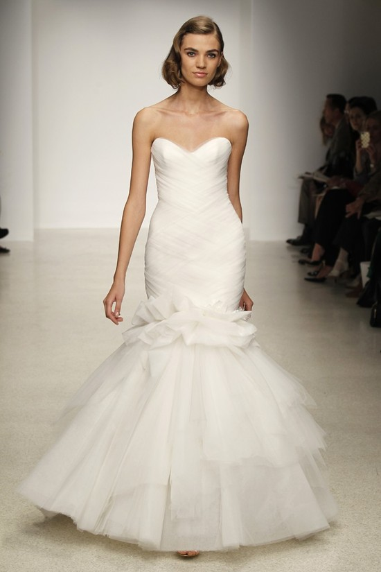 Spring 2013 wedding dress by Kenneth Pool bridal gowns 5