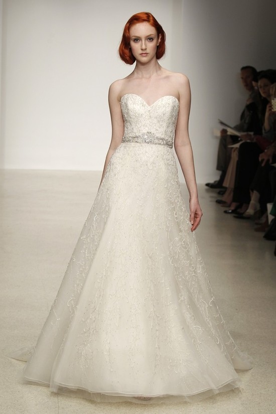 Spring 2013 wedding dress by Kenneth Pool bridal gowns 7