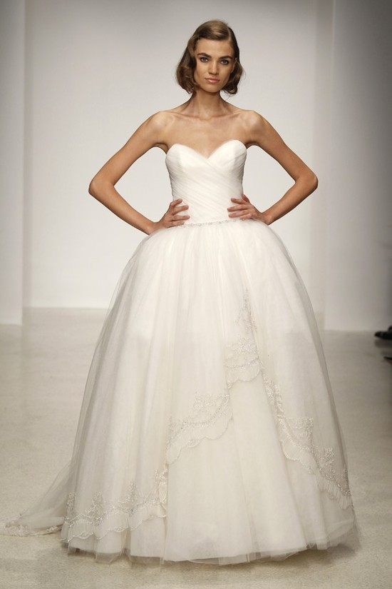 Spring 2013 wedding dress by Kenneth Pool bridal gowns 10