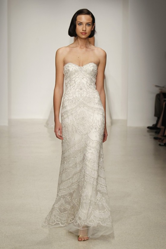 Spring 2013 wedding dress by Kenneth Pool bridal gowns 11