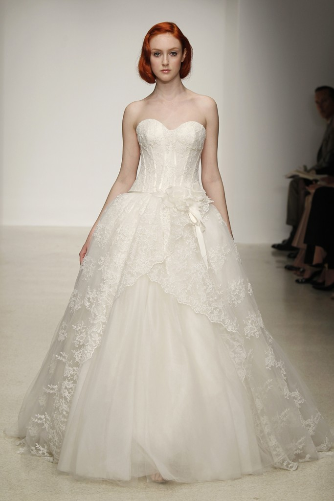 photo of Romantic, Dramatic Wedding Dresses from the Spring 2013 Kenneth Pool Collection