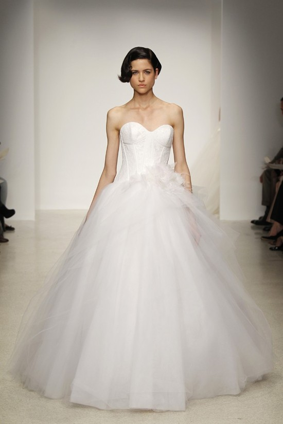 Spring 2013 wedding dress by Kenneth Pool bridal gowns 13