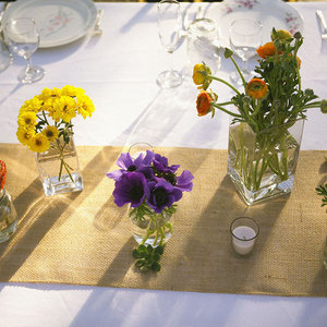 Wildflower wedding centerpieces reception table decor yellow wildflower wedding centerpieces reception table decor yellow purple orange outdoor wedding 4 junglespirit Images