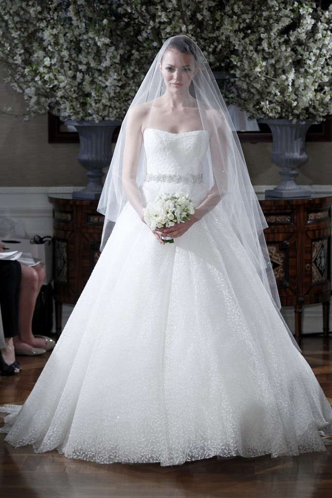 Spring 2013 wedding dress collections Romona Keveza bridal gown ...