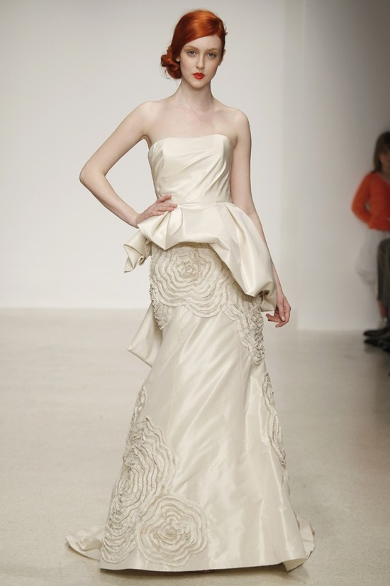 wedding dress by Amsale Spring 2013 bridal gowns 1