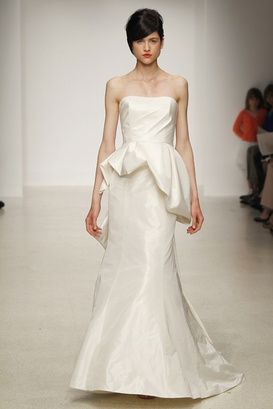 wedding dress by Amsale Spring 2013 bridal gowns 2