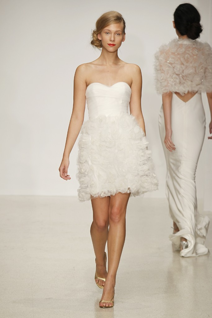 wedding dress by Amsale Spring 2013 bridal gowns 7