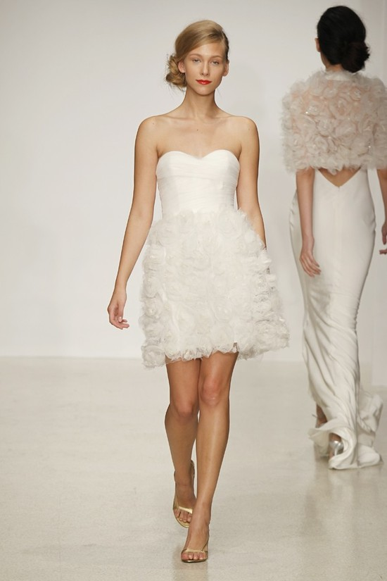wedding dress by Amsale Spring 2013 bridal gowns LWD