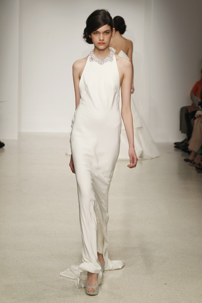 wedding dress by Amsale Spring 2013 bridal gowns 9
