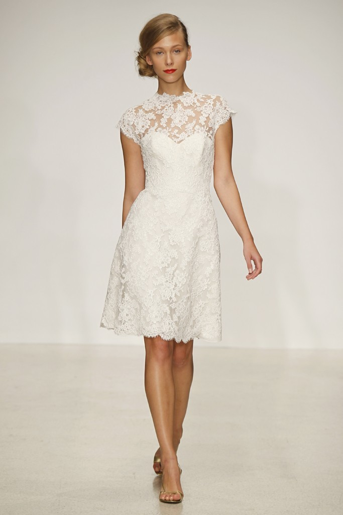 wedding dress by Amsale Spring 2013 bridal gowns 11