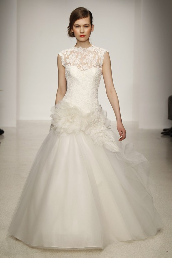 photo of Amsale Keeps It Classy for Spring 2013 Brides