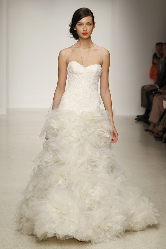 wedding dress by Amsale Spring 2013 bridal gowns 14