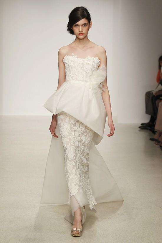 wedding dress by Amsale Spring 2013 bridal gowns 15