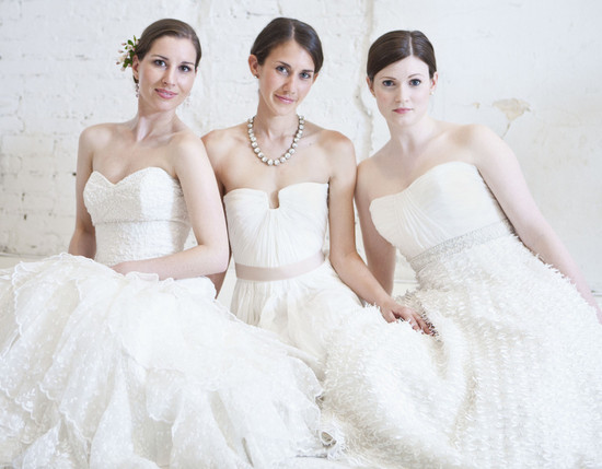 photo of reem acra wedding dresses bridal gown rentals
