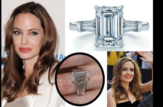 angelina jolie engagement ring get the look for less