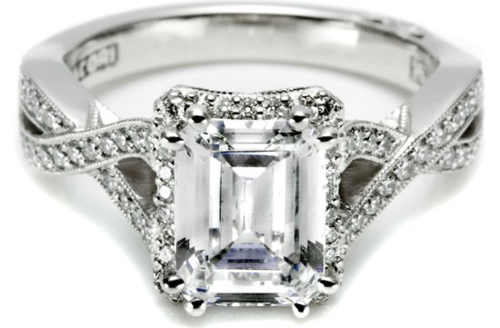 angelina jolie engagement ring look alikes Tacori 1