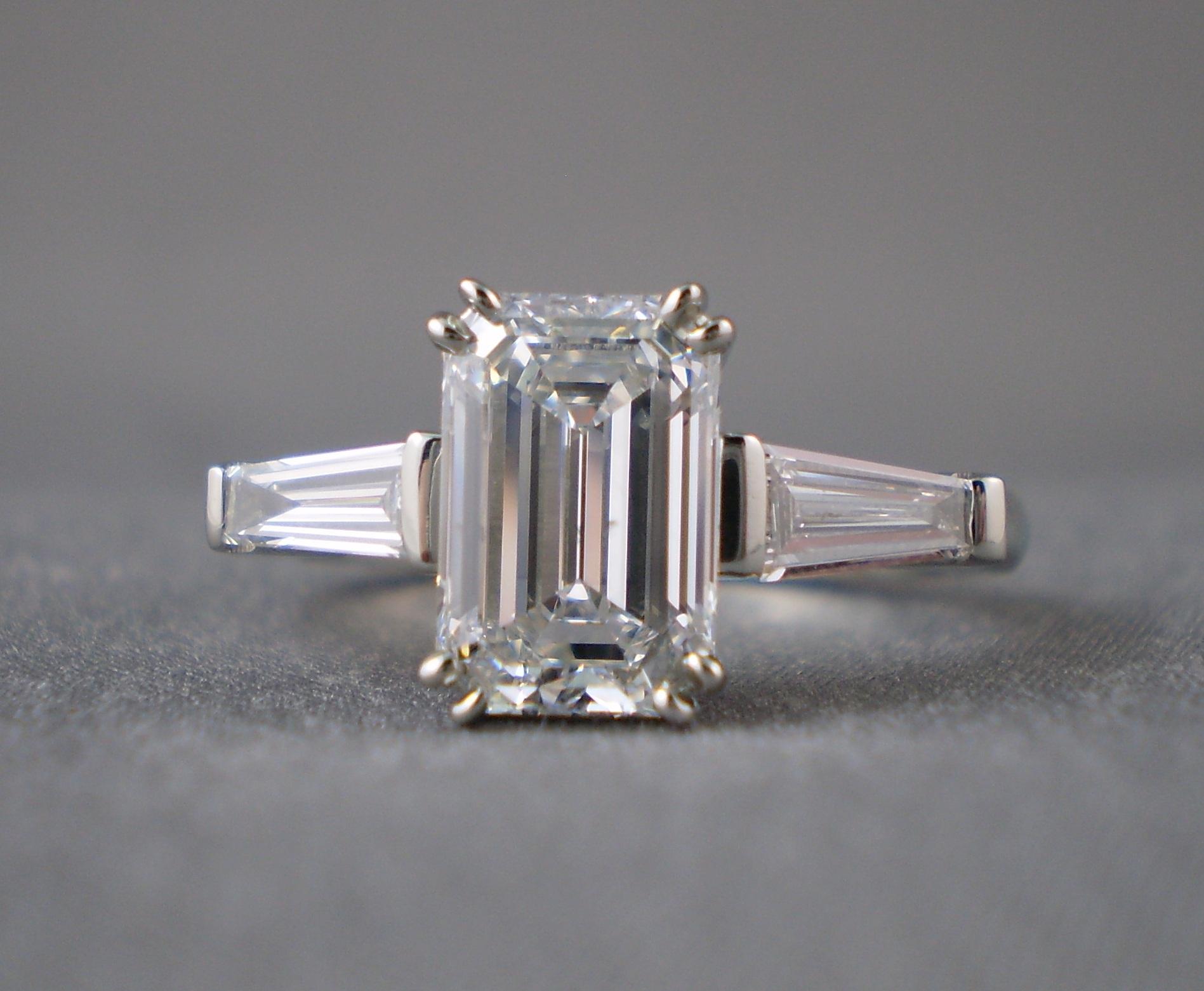 Emerald cut classic blog onewed com