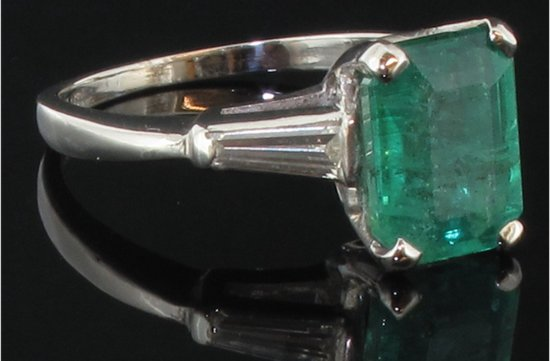 photo of angelina jolie engagement ring emerald cut diamond engagement rings vintage emerald gemstone