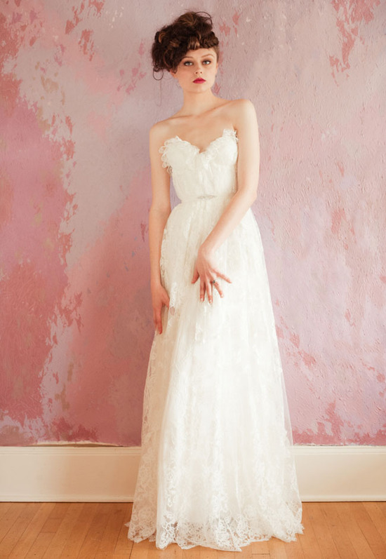 sweetheart neckline wedding dress spring 2013 bridal gowns sarah seven