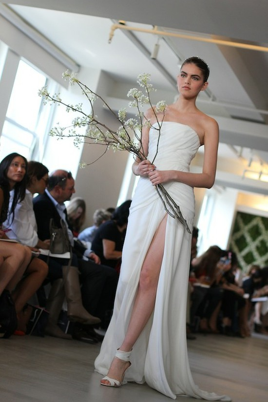 spring 2013 wedding dress Oscar de la Renta bridal gowns 3