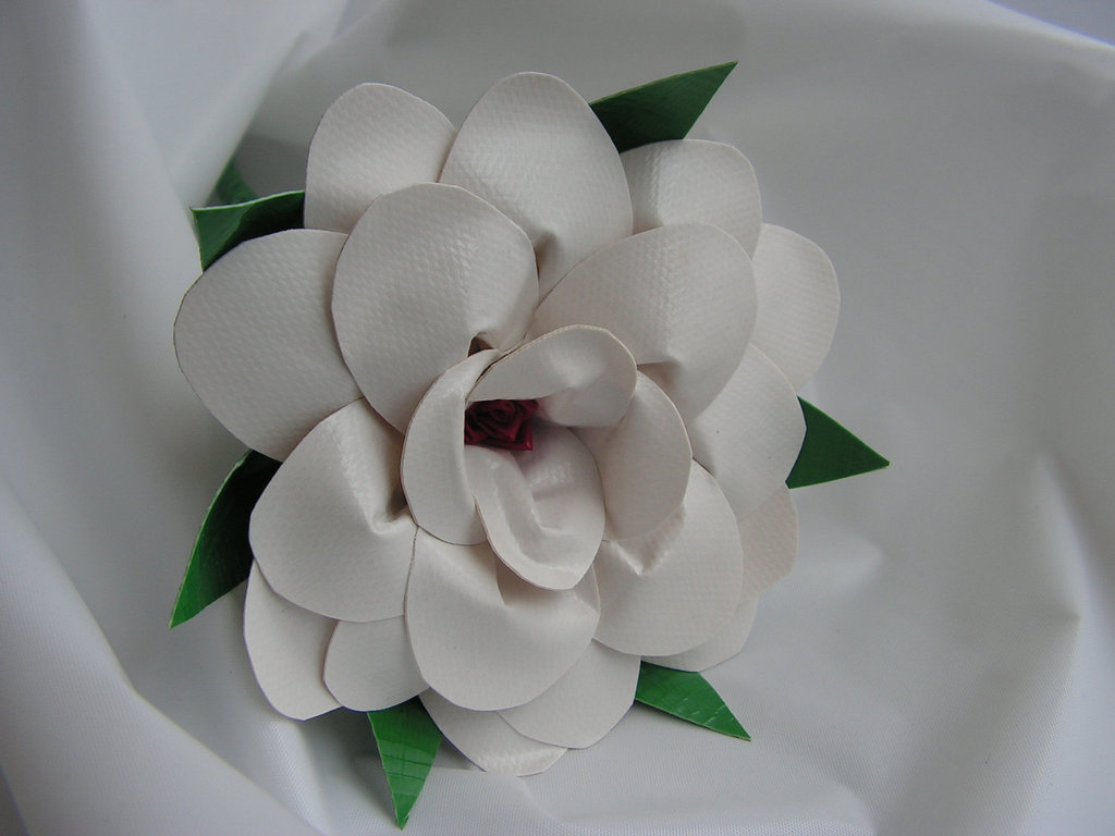 offbeat wedding ideas duct tape bridal bouquet roses eco friendly weddings white grooms bout